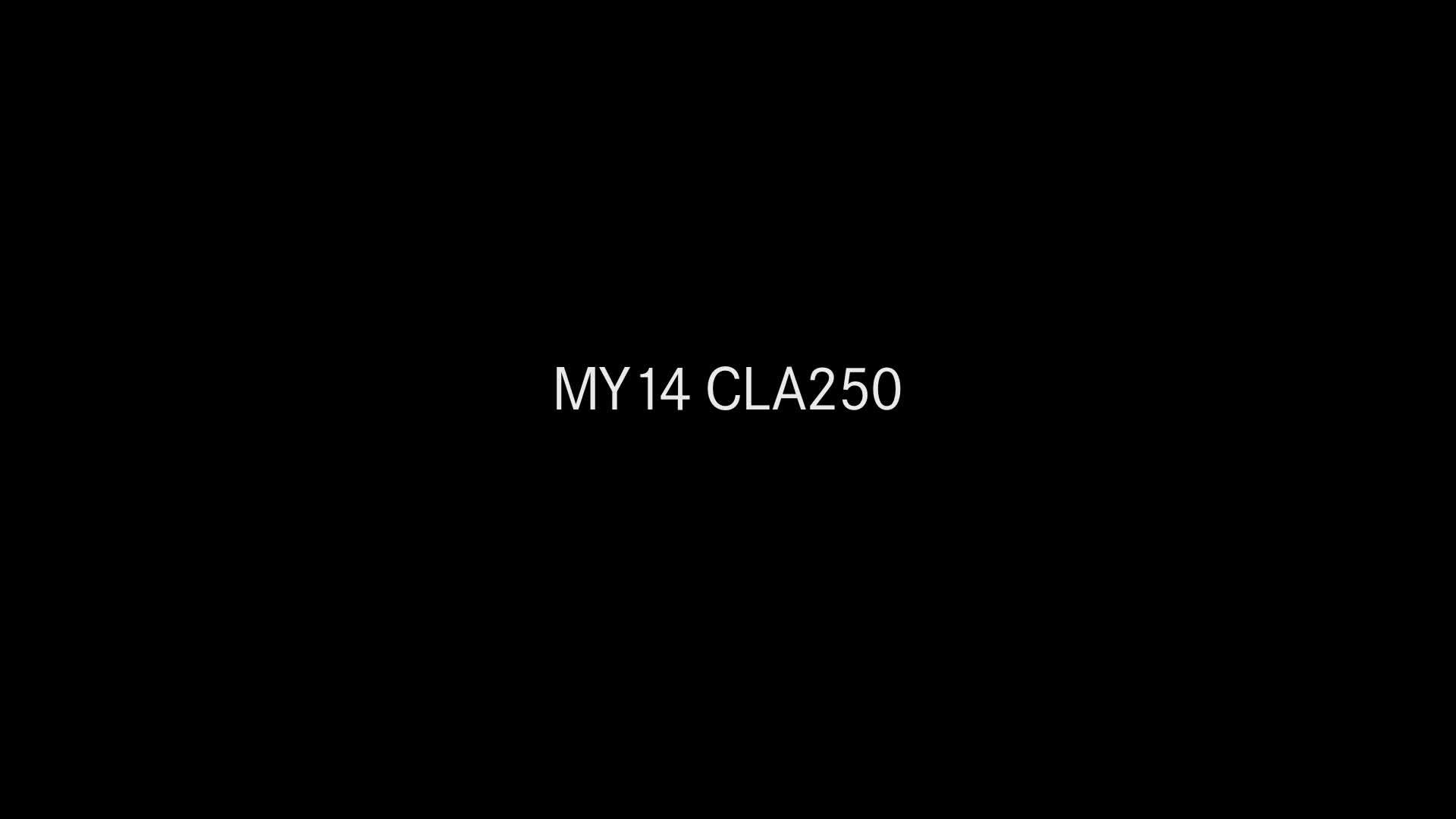 2014 CLA Running Footage