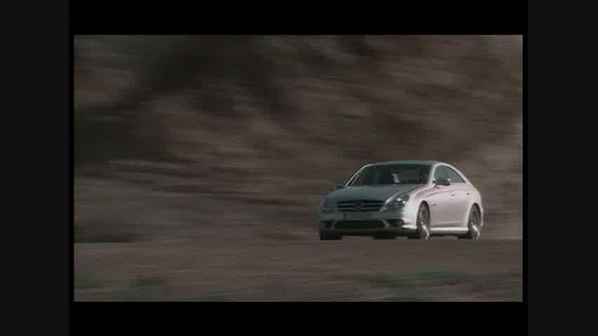 Mercedes-Benz CLS63 AMG - Running