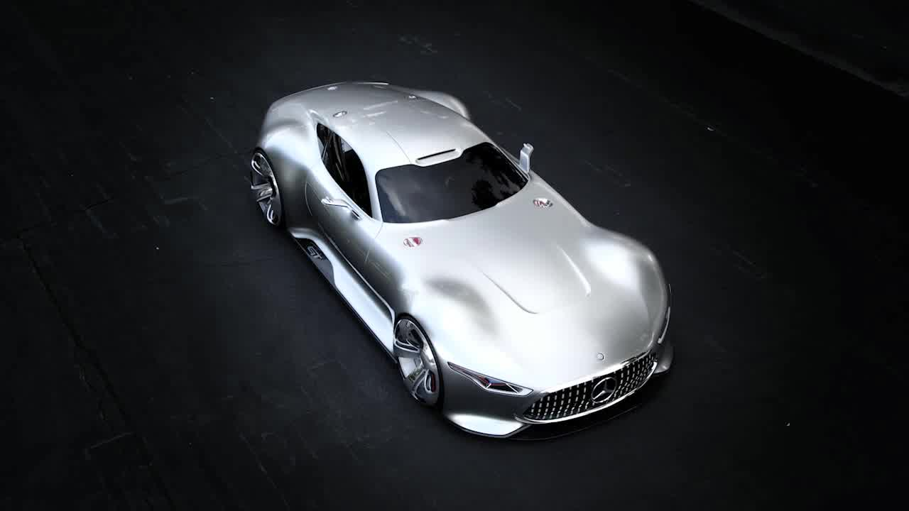 Mercedes-Benz AMG Vision Gran Turismo Footage