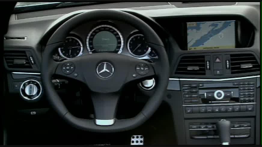 2011 Mercedes-Benz E550 Cabriolet - Interior