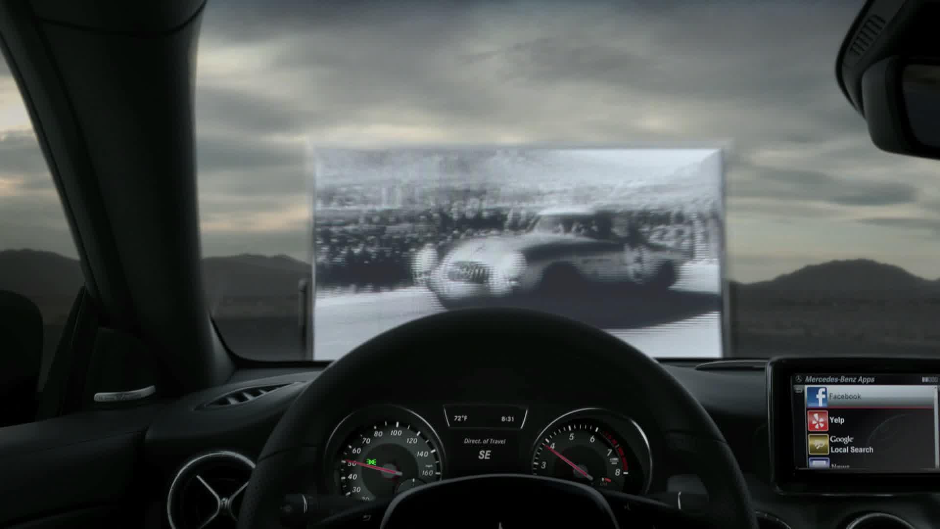 """2014 Mercedes-Benz CLA-Class """"Barriers"""" Ad"""