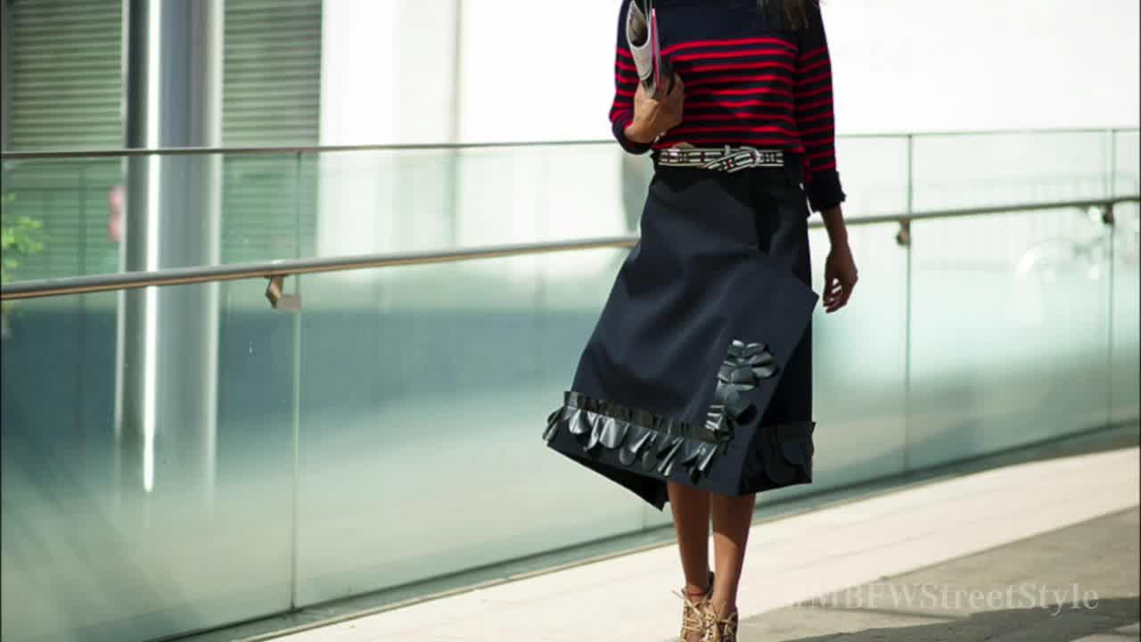 "2014 Mercedes-Benz Fashion Week ""Street Style"""