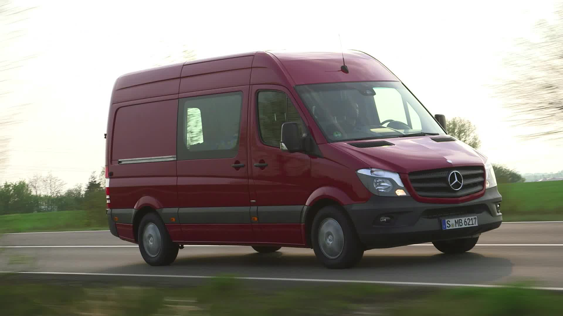 The new 2014MY Sprinter Van