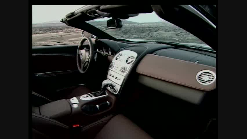 Mercedes-Benz SLR McLaren Roadster - Interior