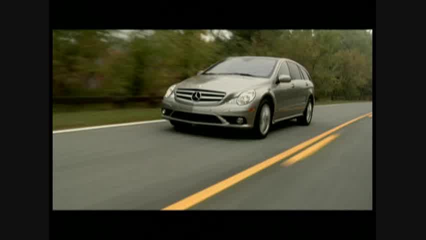 Mercedes-Benz R350 - Running