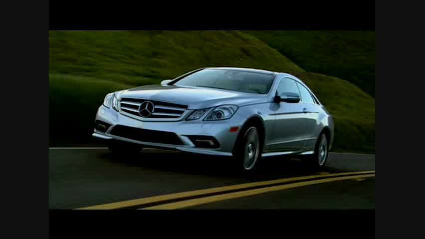 Mercedes-Benz E550 Coupe - Running