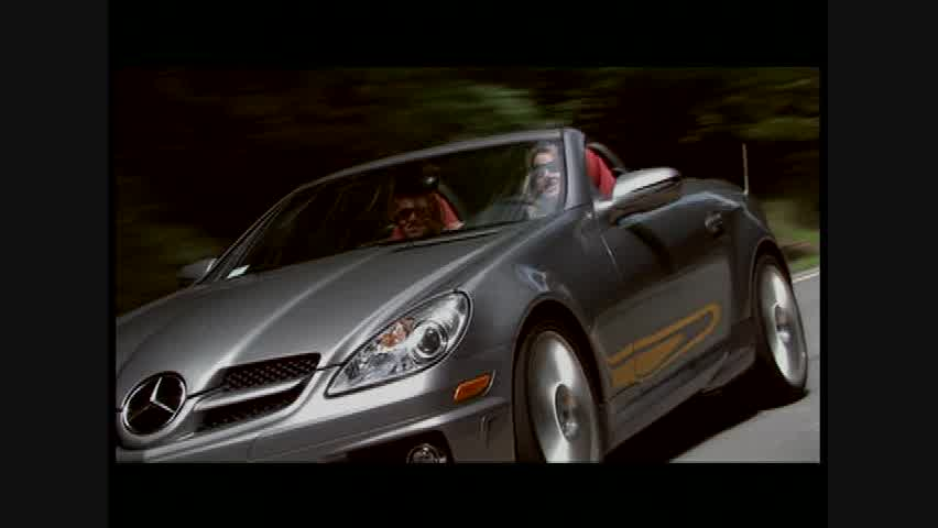 Mercedes-Benz SLK350 - Running