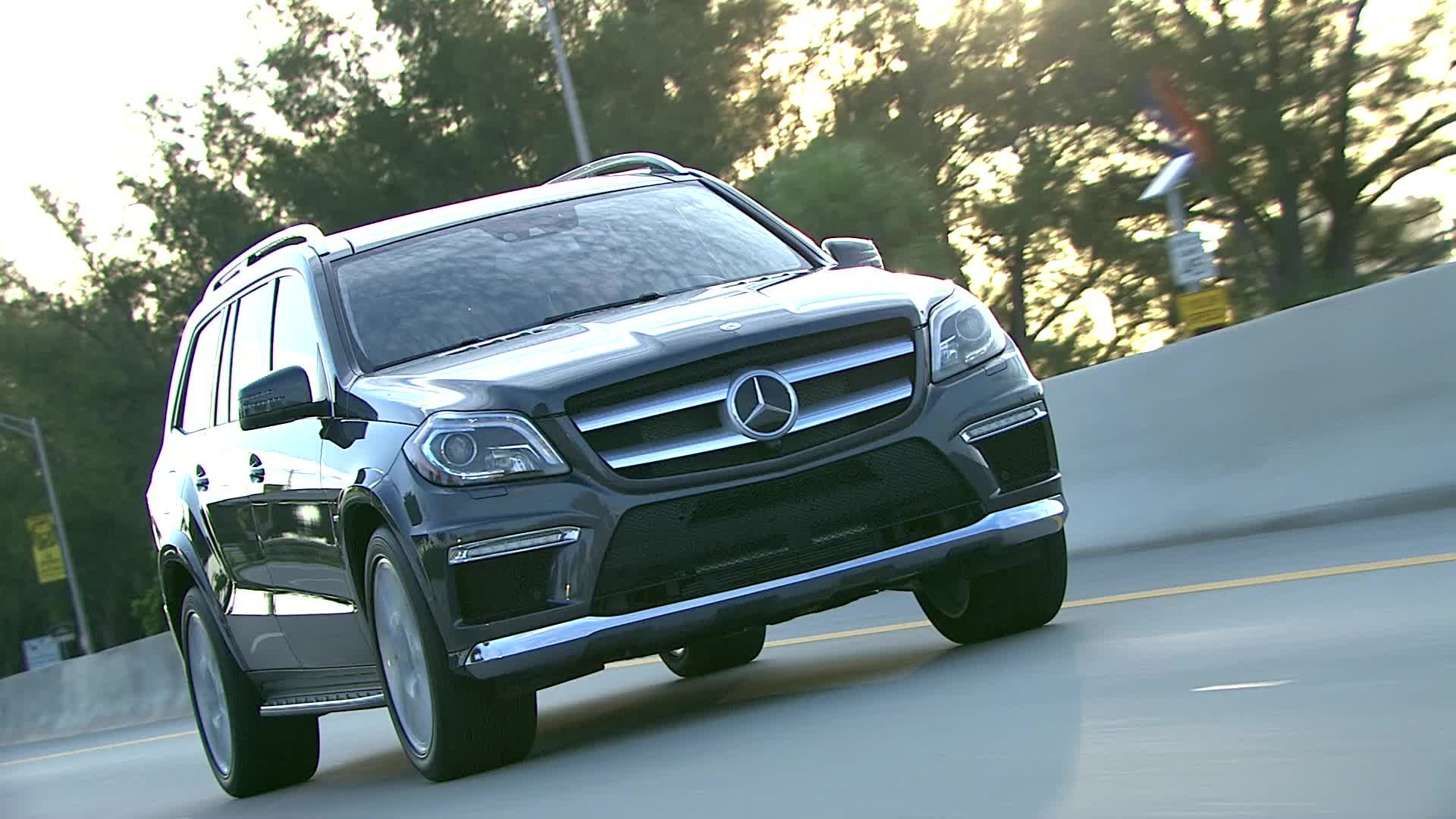 2013 Mercedes-Benz GL550 - Running Footage
