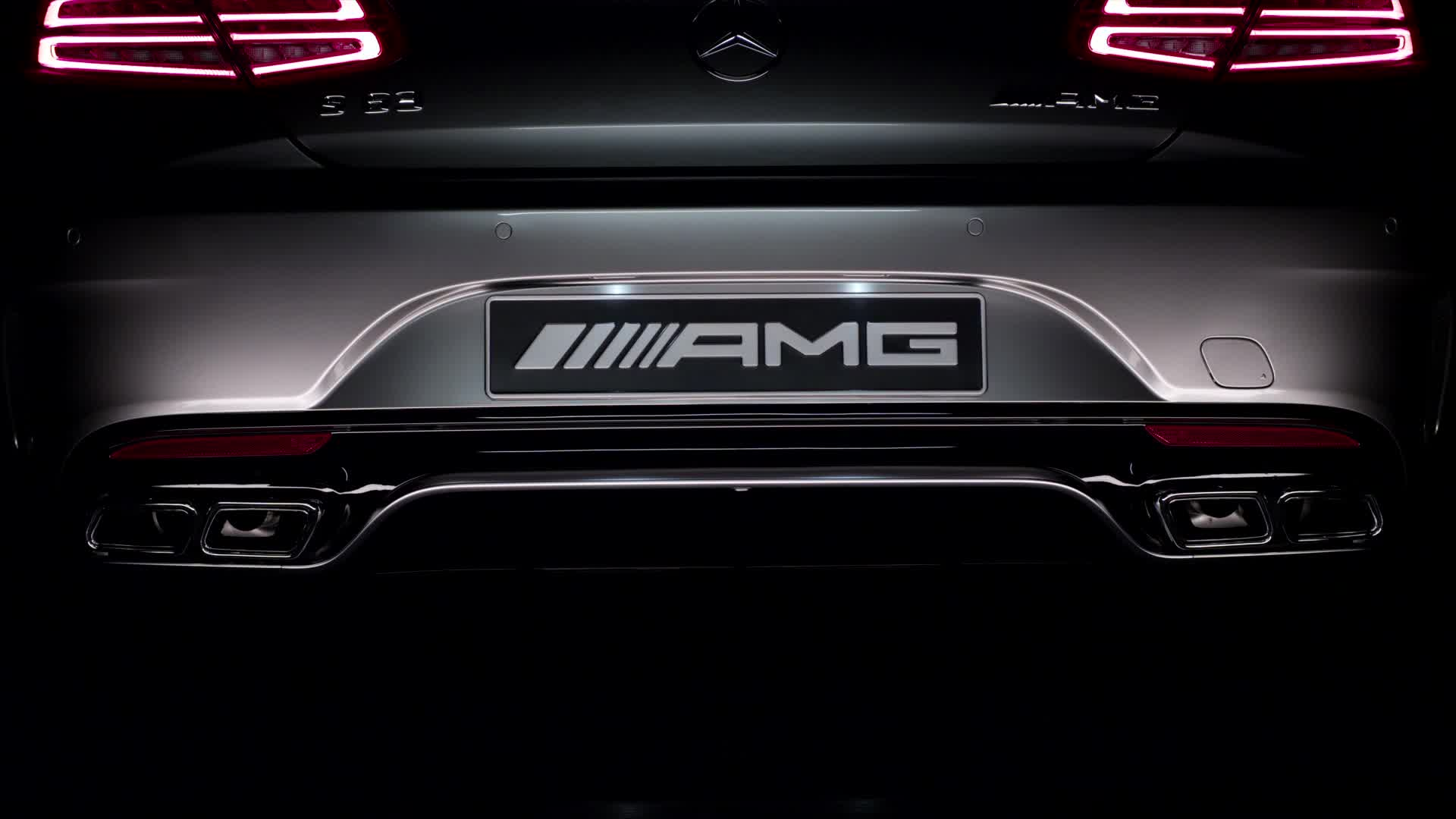 S63 AMG Coupe Running Footage (PAL)