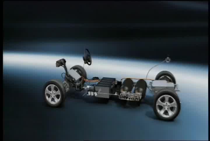2012 Mercedes-Benz F-CELL Technology