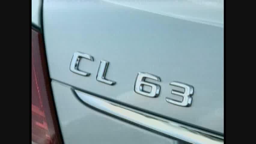 Mercedes-Benz CL63 AMG - Detail
