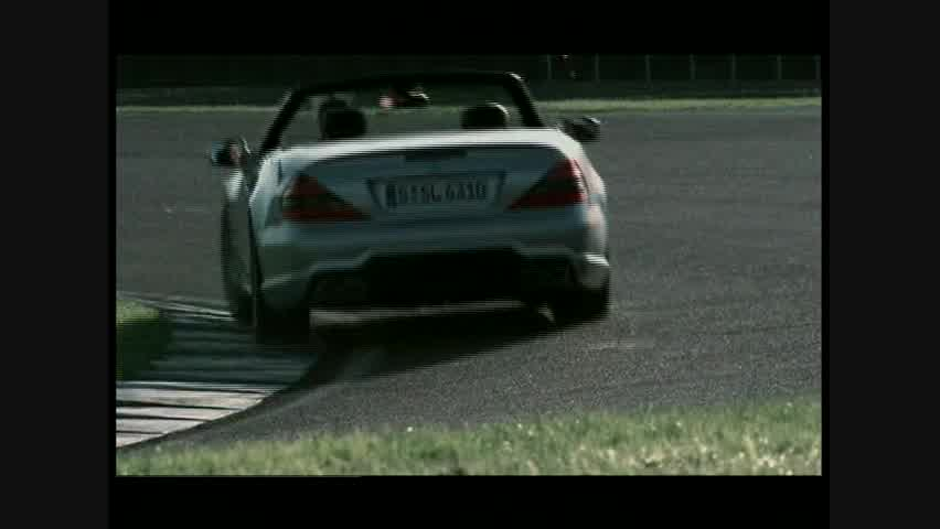 Mercedes-Benz SL63 AMG - Running
