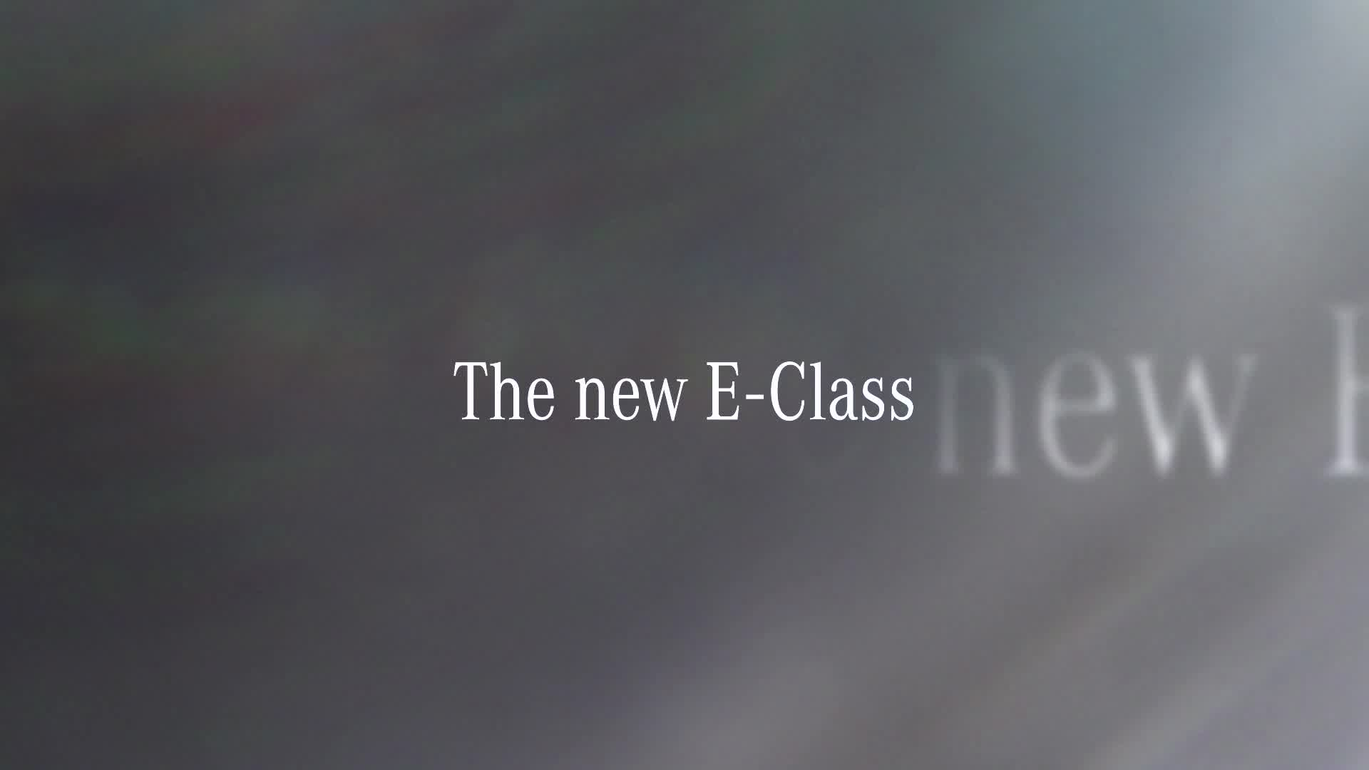 The 2017 Mercedes-Benz E-Class