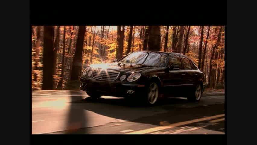 Mercedes-Benz E550 - Running