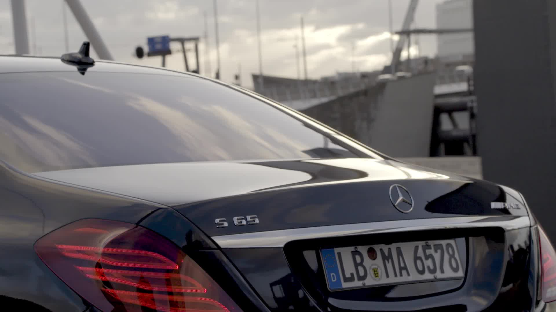 2015 Mercedes-Benz S65 AMG B-Roll