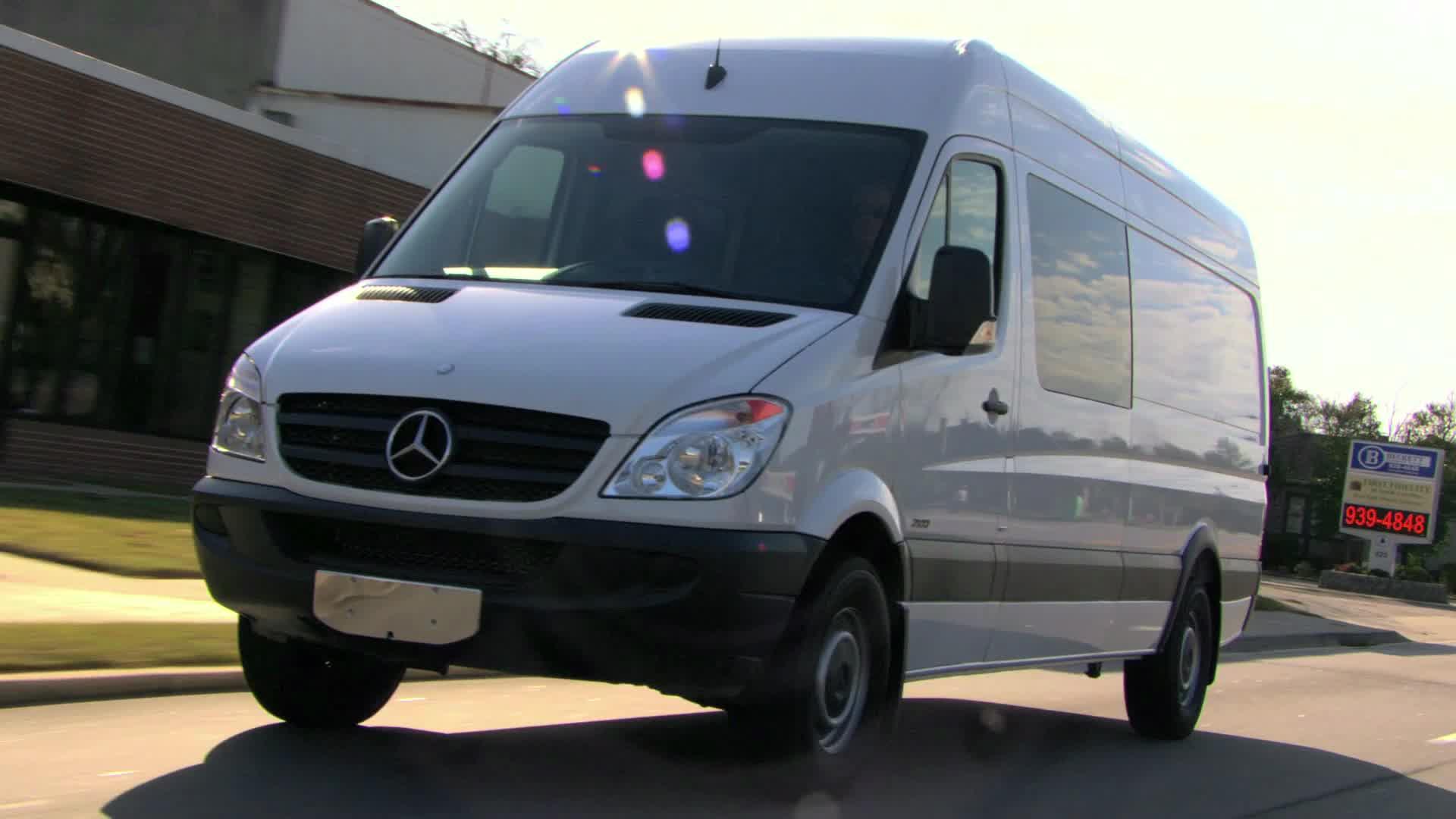 2012 Mercedes-Benz Sprinter Crew Van