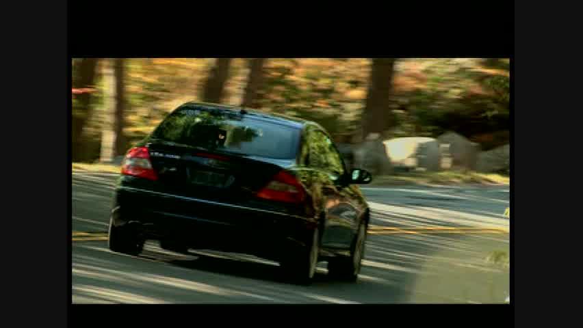 Mercedes-Benz CLK550 Coupe - Running