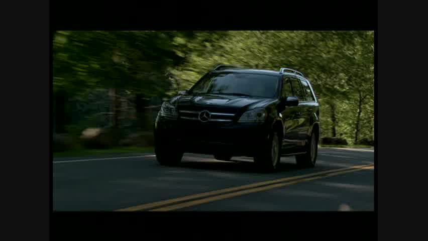Mercedes-Benz GL450 - Running