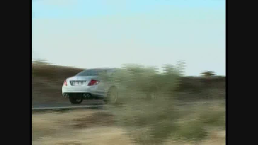 Mercedes-Benz CL63 AMG - Running