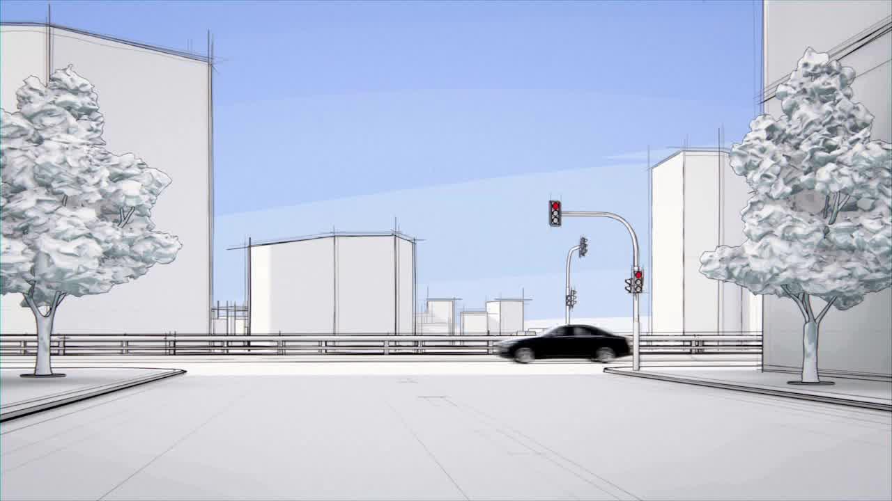 Mercedes-Benz PRE-SAFE Brake with Pedestrian Recognition