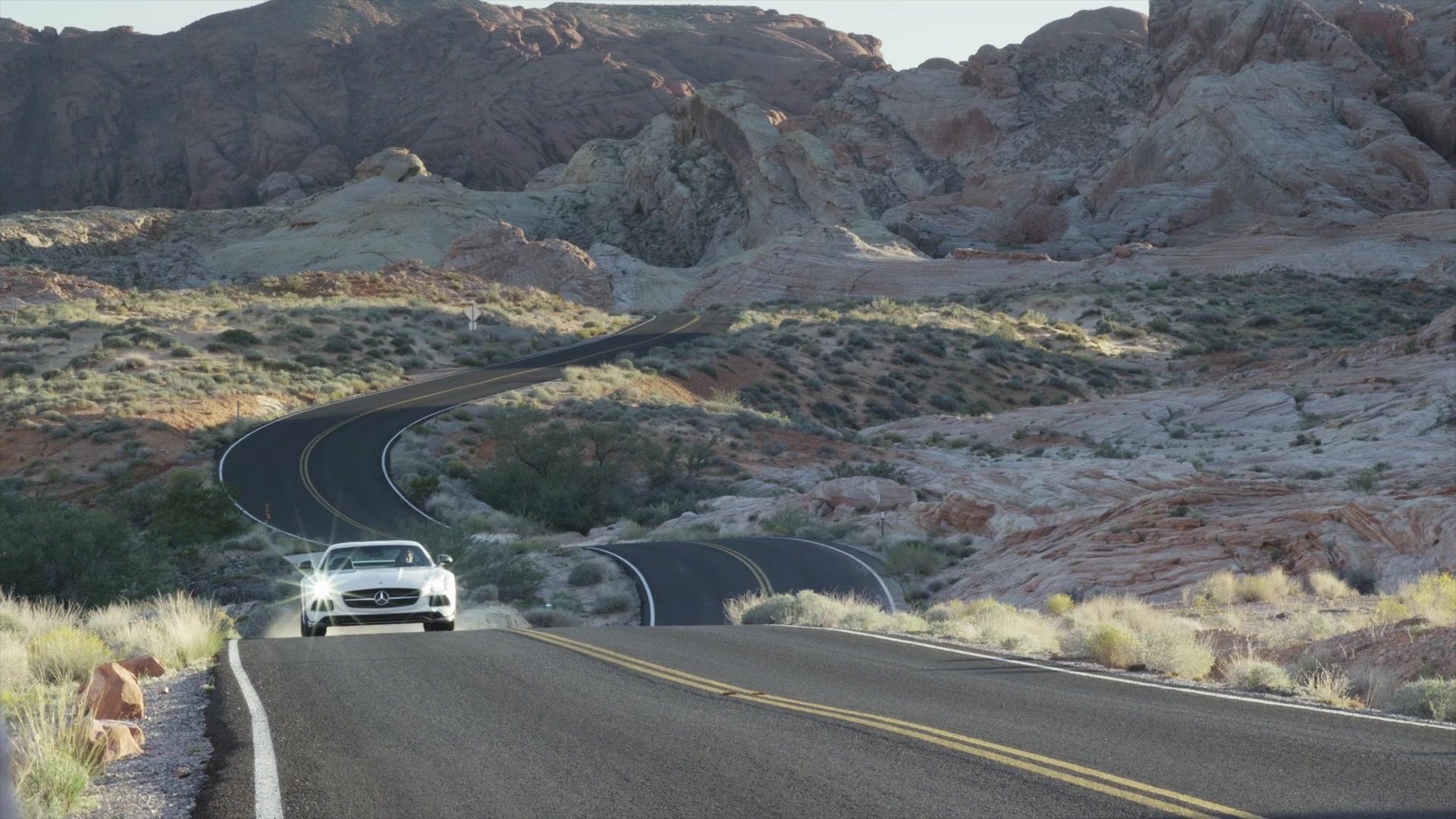 2014MY SLS AMG Black Series - Running Footage