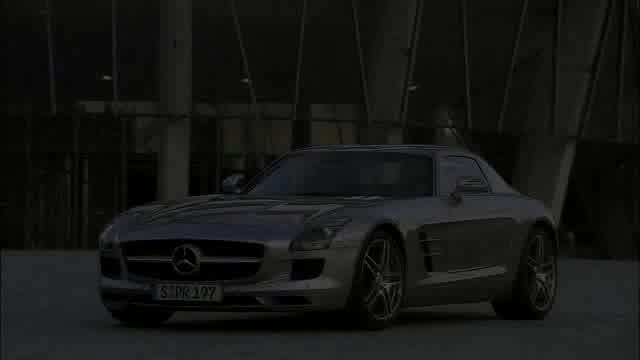 Mercedes-Benz SLS AMG Trailer