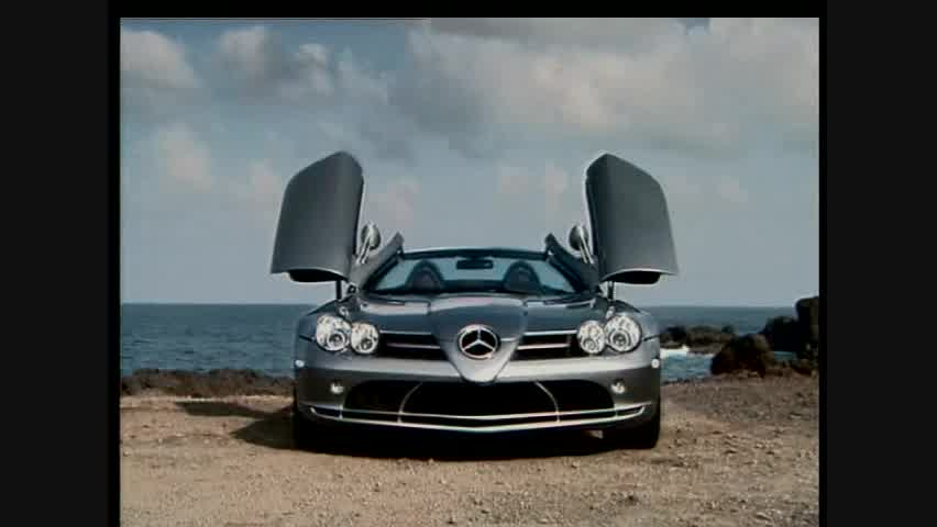 Mercedes-Benz SLR McLaren Roadster - Detail