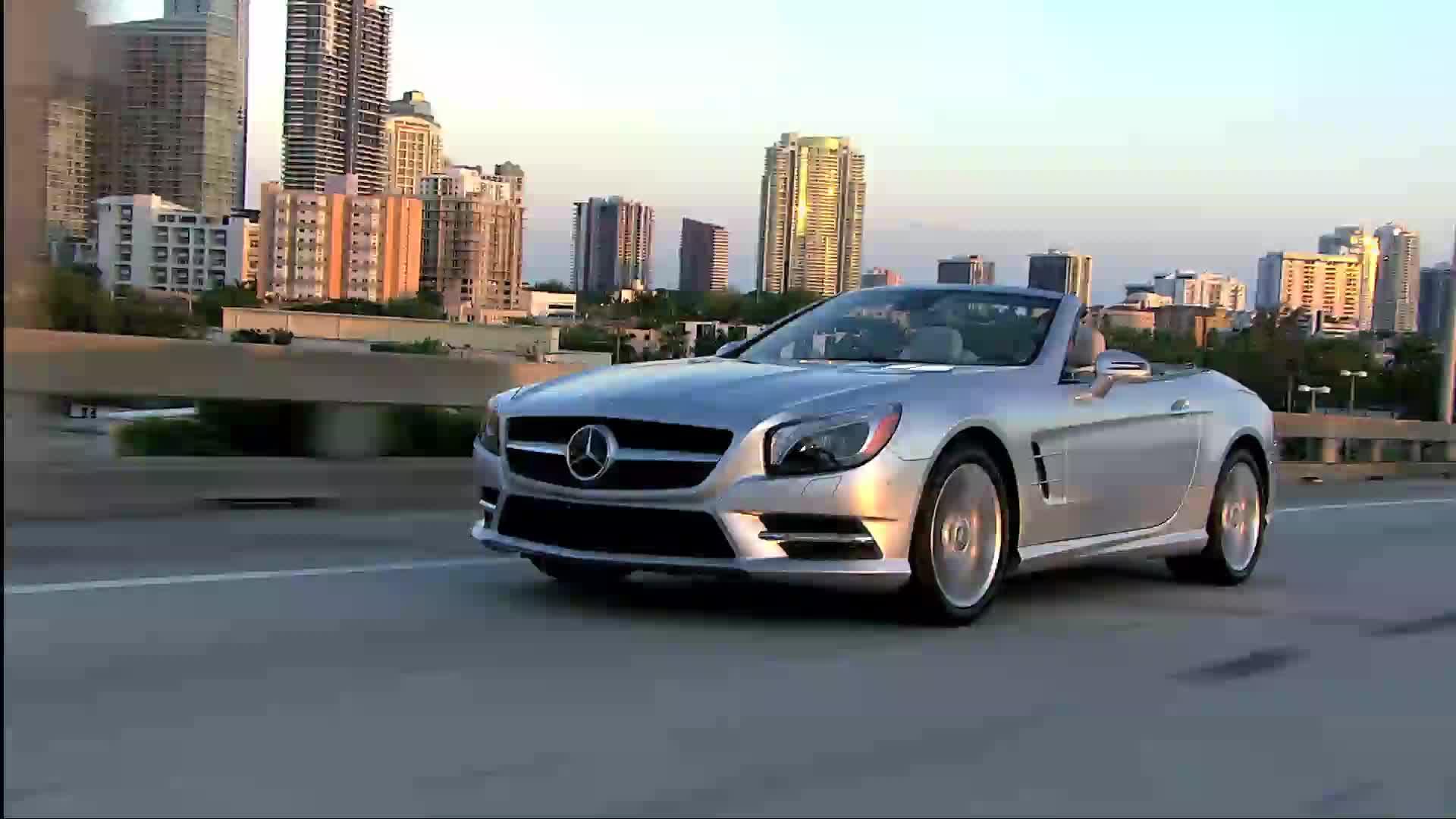 2013 Mercedes-Benz SL550 - Running Footage