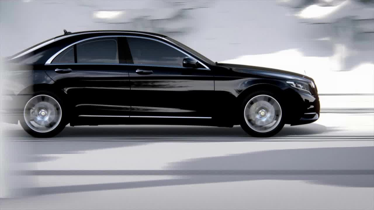 Mercedes-Benz Active Lane Keeping Assist and Active Blind Spot Assist