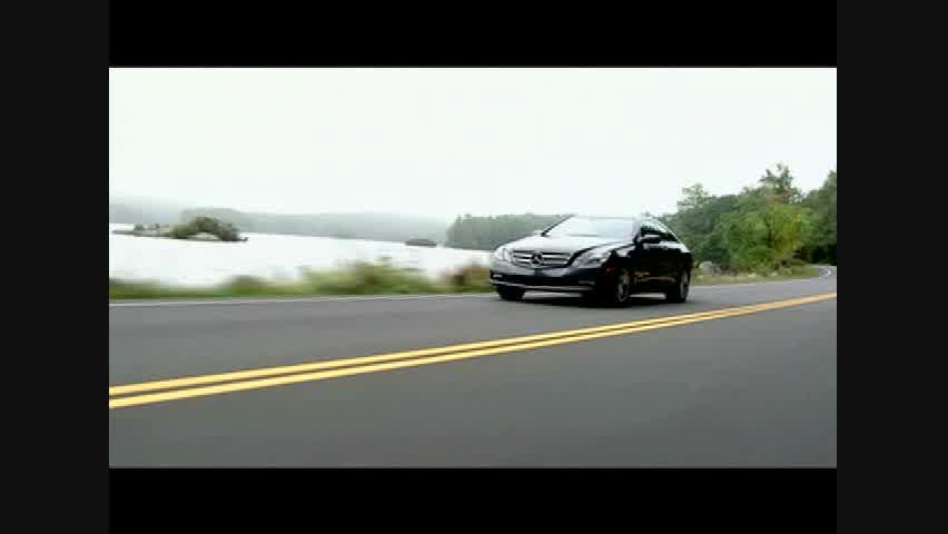 Mercedes-Benz E350 Coupe - Running